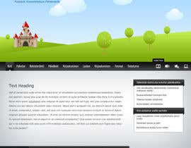 #11 for Graphic Redesign: Front page of web app for nursery schools (PSD) by axxxd