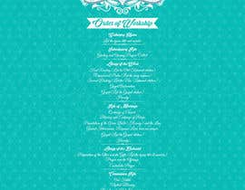 #21 untuk I need some Graphic Design for a Wedding Program oleh kurinjie