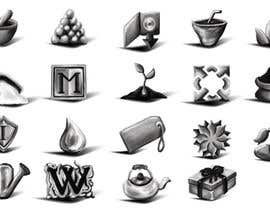 #88 untuk Design Icons for new Bulk Herb Store website oleh zoomlander