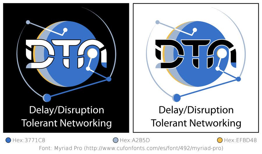 Contest Entry #233 for NASA Challenge: Design a Logo for Delay/Disruption Tolerant Networking (DTN) Project