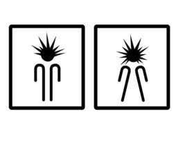 nat385 tarafından Design a Logo for man and woman toilet doors için no 45