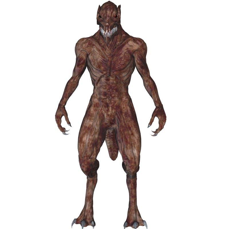 Bài tham dự cuộc thi #                                        6                                      cho                                         [3D-Model] Leather Monster