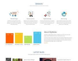 #7 untuk Design a Website Mockup for Web Design Agency oleh syrwebdevelopmen