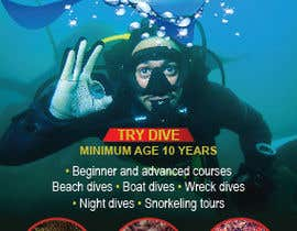 #13 untuk Design leaflet, a-board and advertisement for Dive Centre oleh teAmGrafic