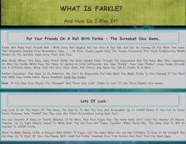 #41 untuk Redesign a single-page web site oleh hardik20