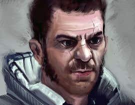 KamilPr tarafından Experienced Space Pilot Character Portrait için no 9