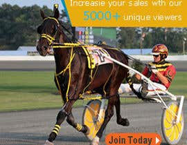 "#6 untuk Harness racing banner ad design ""advertise with us"" oleh dgnGuru"