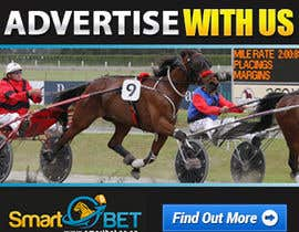 "#12 untuk Harness racing banner ad design ""advertise with us"" oleh SJADDesigns"