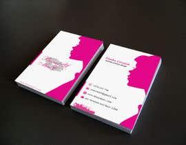 #92 untuk Makeup Artist Business Card Design oleh Nahidrahman19