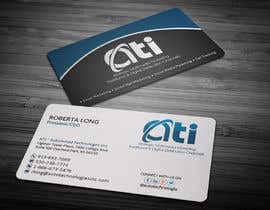 anikush tarafından Design some Business Cards for  ATI için no 33
