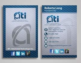 Indiasearchpages tarafından Design some Business Cards for  ATI için no 54
