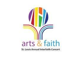 #186 untuk Arts & Faith St. Louis Interfaith Concert Logo oleh femi2c
