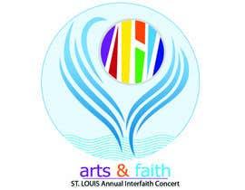#187 untuk Arts & Faith St. Louis Interfaith Concert Logo oleh quytranngoc84