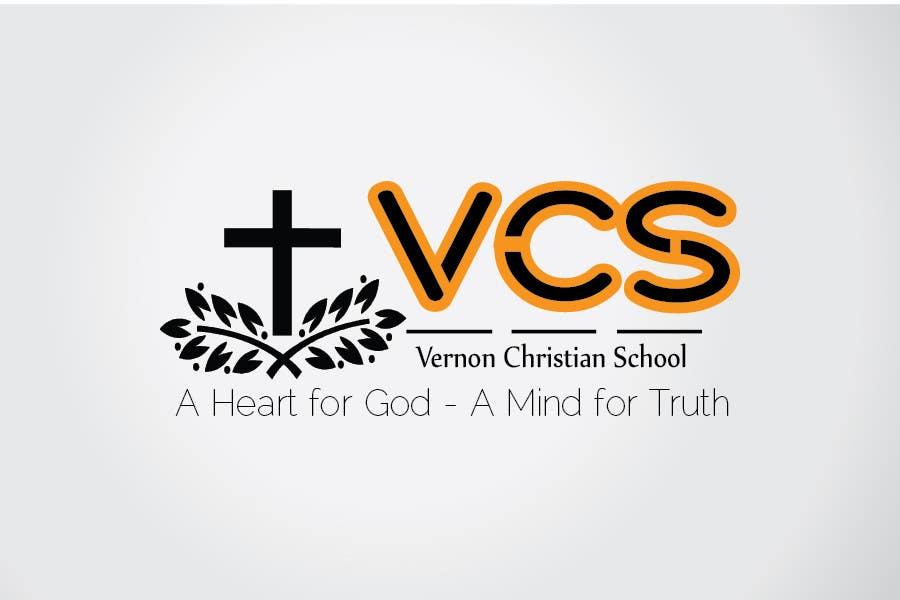 Kilpailutyö #104 kilpailussa Logo Design for Vernon Christian School