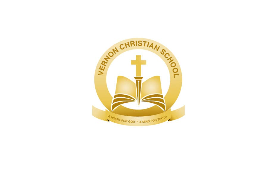 Konkurrenceindlæg #                                        115                                      for                                         Logo Design for Vernon Christian School