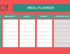webcodez tarafından Design a Weekly Meal Planner için no 16