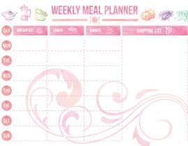 gkhaus tarafından Design a Weekly Meal Planner için no 12