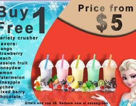 #17 untuk Drinks promotion flyer oleh modinoart