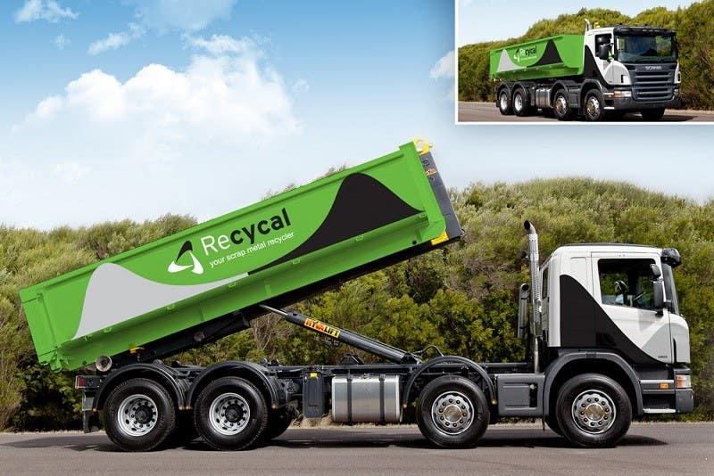 Kilpailutyö #53 kilpailussa Design our the colour scheme/artwork for our new trucks