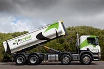 Graphic Design Kilpailutyö #42 kilpailuun Design our the colour scheme/artwork for our new trucks