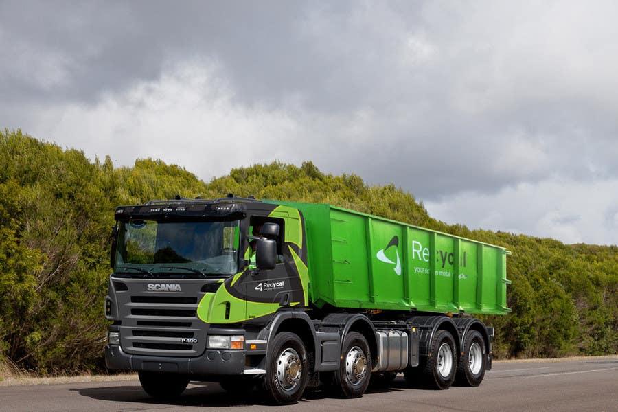 Kilpailutyö #166 kilpailussa Design our the colour scheme/artwork for our new trucks