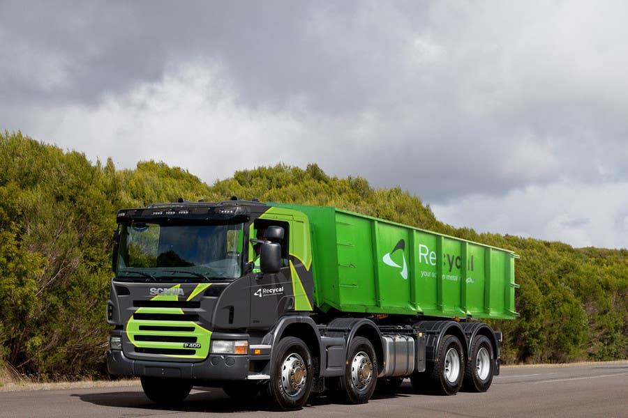 Kilpailutyö #168 kilpailussa Design our the colour scheme/artwork for our new trucks