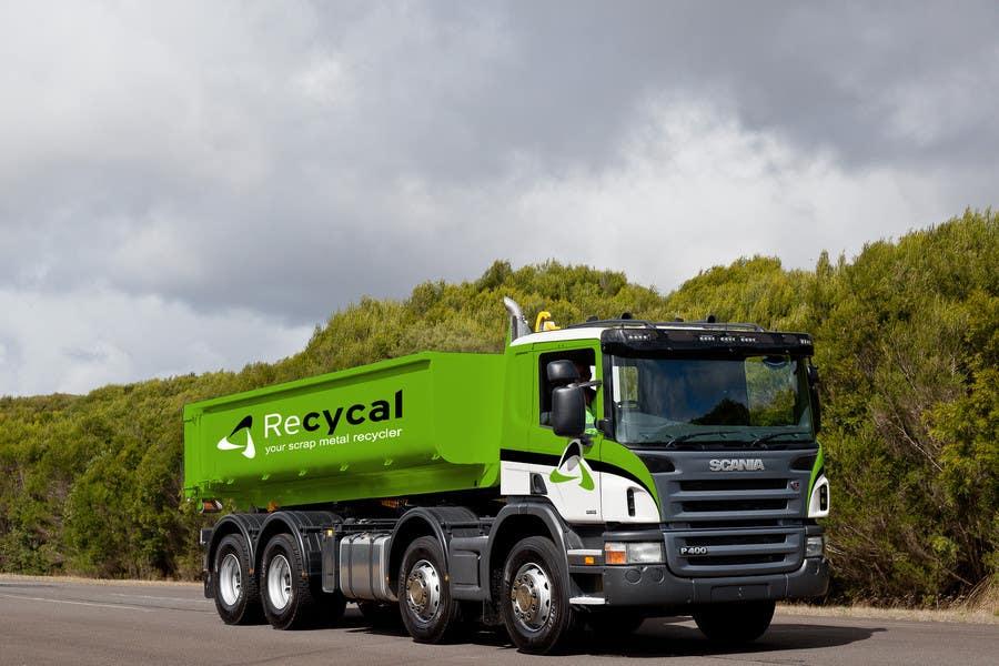 Kilpailutyö #163 kilpailussa Design our the colour scheme/artwork for our new trucks