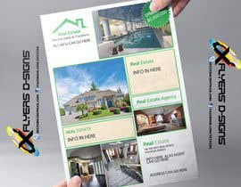 #45 untuk Design A Real Estate Flyer oleh xflyerdsigns