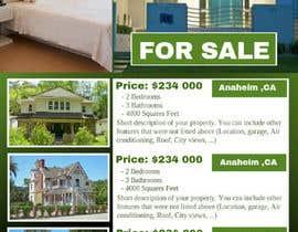 #53 untuk Design A Real Estate Flyer oleh Vishalmital