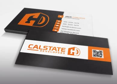 #58 untuk Design some Business Cards for Construction Company oleh LeeniDesigns