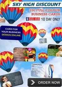 #16 untuk Design a Banner for marketing of a  print product (Air Balloon concept) oleh msdvenkat
