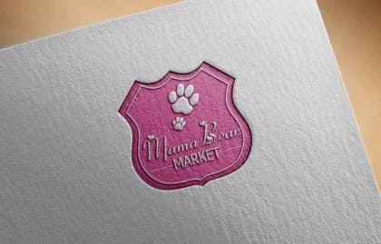 sameer6292 tarafından Mama Bear Market Logo Design için no 26