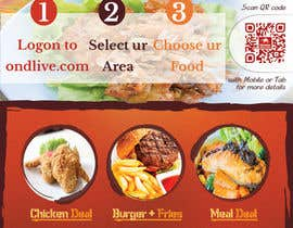 #21 untuk Design a Flyer for a new online food ordering and delivery service oleh Mach5Systems