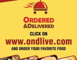 #13 untuk Design a Flyer for a new online food ordering and delivery service oleh neerajdadheech