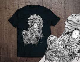 #110 untuk Design a Skull for t-shirt design oleh aandrienov