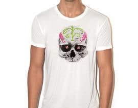 #61 untuk Design a Skull for t-shirt design oleh joseantoniomv
