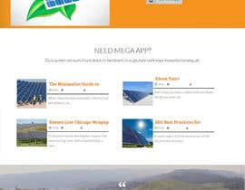 #30 untuk Design a Website Mockup for  solartippingpoint.com oleh lassoarts