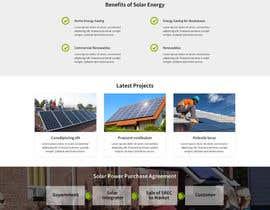 #15 untuk Design a Website Mockup for  solartippingpoint.com oleh thimsbell