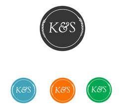 #13 untuk Design a Logo for K & S oleh KhawarAbbaskhan