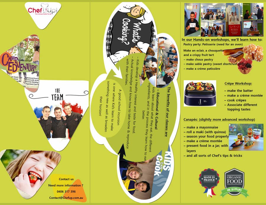 Penyertaan Peraduan #9 untuk Design a Brochure for School activities for Kids