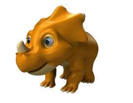 Ke8c9 tarafından Do some 3D Modelling for  a cute baby dinosaur için no 21
