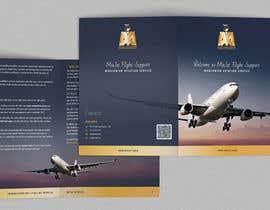 #17 untuk Design a Brochure for aviation service company oleh ARdesignLV