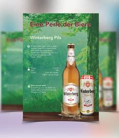 #28 untuk Design a Brochure for a Beer Brand oleh gmorya