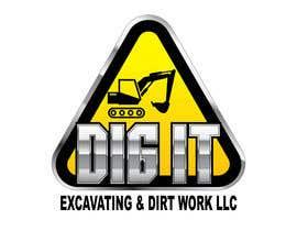 #66 untuk Design a Logo for DIG IT Excavating and Dirt Work oleh RomartDev