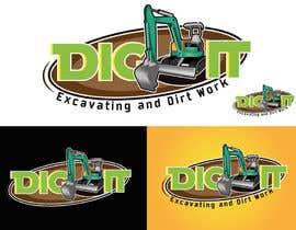 #58 untuk Design a Logo for DIG IT Excavating and Dirt Work oleh a25126631