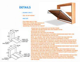 #3 untuk Design a Flyer for Fold away bed fitting oleh mahiweb123