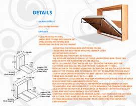 #4 untuk Design a Flyer for Fold away bed fitting oleh mahiweb123