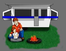 wbonnichsen tarafından Illustrate Something for Children's Book - camping theme için no 6