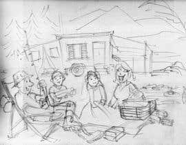 caloylvr tarafından Illustrate Something for Children's Book - camping theme için no 20