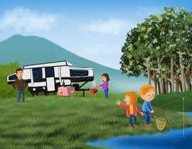studiokimus tarafından Illustrate Something for Children's Book - camping theme için no 22